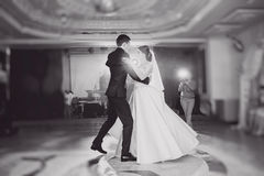 Danse Wedding Image stock