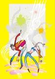 Dansen   Royalty-vrije Illustratie