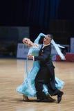 dansen för 20 kan den vuxna par det minsk programet Royaltyfri Fotografi