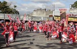 dansen lurar den philippines gatan Arkivbilder