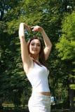 dansen poserar Arkivbild