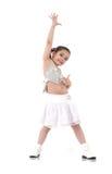 Dansend babymeisje Royalty-vrije Stock Foto's