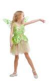 Dansend feemeisje Stock Afbeelding