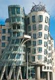Dansend huis in Praag Royalty-vrije Stock Fotografie