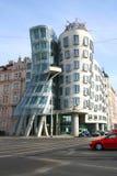 Dansend huis, Praag, Chezh Royalty-vrije Stock Afbeeldingen