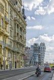 Dansend Huis, Praag, Tsjechische Republiek Stock Afbeeldingen