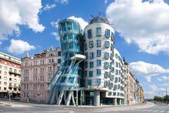 Dansend Huis, Praag, Tsjechische Republiek Royalty-vrije Stock Afbeeldingen