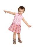 Dansend kind Royalty-vrije Stock Foto's