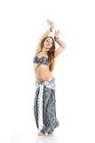 Dansend meisje Stock Afbeelding