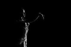Dansend meisje Stock Foto's