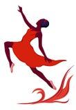 Dansend meisje Royalty-vrije Stock Foto