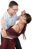 Dansend paar Stock Foto's