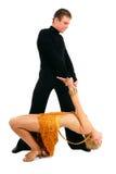 Dansend paar Royalty-vrije Stock Fotografie