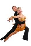 Dansend paar Royalty-vrije Stock Afbeelding