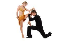 Dansend paar Stock Fotografie