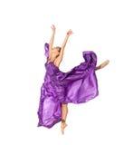 Dansende ballerina Royalty-vrije Stock Foto