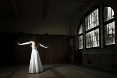 Dansende bruid Royalty-vrije Stock Foto's