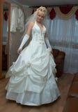 Dansende bruid Stock Foto