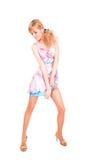 Dansende dame Stock Fotografie
