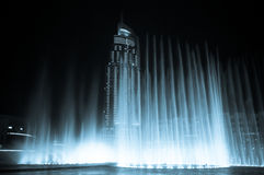 Dansende fontein Royalty-vrije Stock Afbeelding