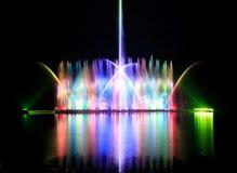 Dansende fonteinen Stock Foto