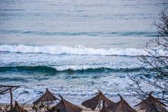 Dansende golven Royalty-vrije Stock Foto's