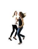Dansende jonge meisjes Stock Foto