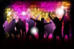 Dansende jonge mensen Stock Afbeelding
