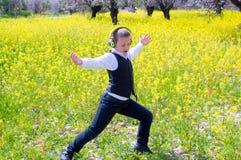 Dansende jongen Stock Afbeelding