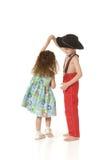 Dansende kinderen Royalty-vrije Stock Afbeelding