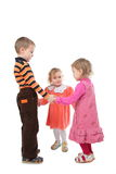 Dansende kinderen Stock Afbeelding