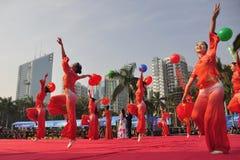 Dansende meisjes Royalty-vrije Stock Foto's