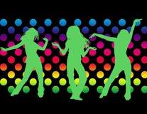 Dansende meisjes Stock Fotografie