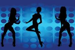 Dansende meisjes Stock Foto