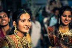 Dansende meisjes in Rajasthan Stock Foto