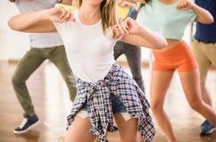 Dansende mensen Royalty-vrije Stock Foto's