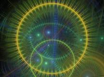 Dansende orbs van energie Royalty-vrije Stock Afbeelding