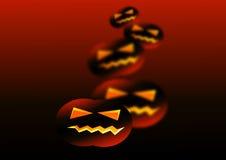 Dansende pompoenen Royalty-vrije Stock Afbeeldingen