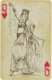 Dansende Prinses royalty-vrije illustratie