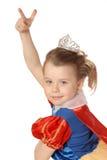 Dansende prinses royalty-vrije stock foto's