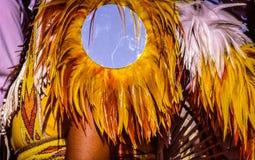Dansende Regalia Royalty-vrije Stock Foto