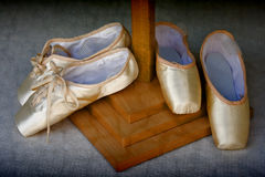 Dansende schoenen Stock Foto's