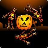 Dansende Skeletten vector illustratie