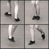 Dansende voeten Royalty-vrije Stock Fotografie