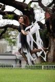 Dansende vrouw Royalty-vrije Stock Fotografie