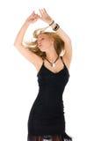 Dansende vrouw Stock Foto's