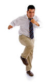 Dansende zakenman Royalty-vrije Stock Foto's