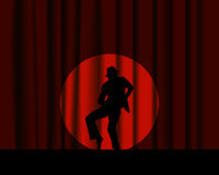 Danser royalty-vrije illustratie