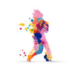 Danser vector illustratie