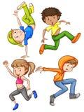danser illustration libre de droits